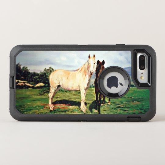 Funda OtterBox Defender Para iPhone 8 Plus/7 Plus Caballos/Cabalos/Horses