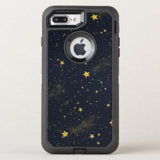 Funda OtterBox Defender Para iPhone 8 Plus/7 Plus Caja de la caja de la nutria del cielo nocturno