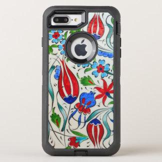 Funda OtterBox Defender Para iPhone 8 Plus/7 Plus Diseño floral turco