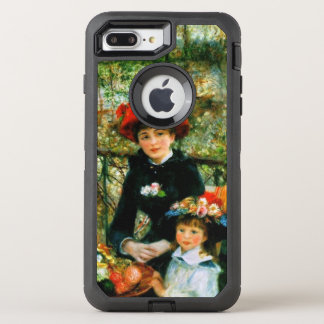 Funda OtterBox Defender Para iPhone 8 Plus/7 Plus Dos hermanas en la terraza