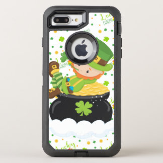 Funda OtterBox Defender Para iPhone 8 Plus/7 Plus El Leprechaun del arroz del St