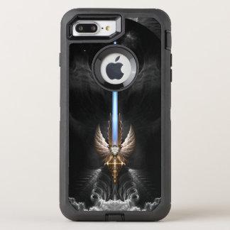 Funda OtterBox Defender Para iPhone 8 Plus/7 Plus Espada del ala del ángel de los DGS de Arkledious