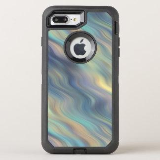 Funda OtterBox Defender Para iPhone 8 Plus/7 Plus Extracto en colores pastel de las corrientes que