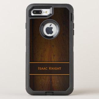 Funda OtterBox Defender Para iPhone 8 Plus/7 Plus Falsa madera de pino báltica de madera de hombres