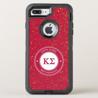 Funda OtterBox Defender Para iPhone 8 Plus/7 Plus Insignia de la sigma el | de Kappa