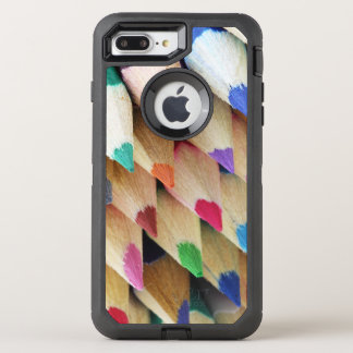 Funda OtterBox Defender Para iPhone 8 Plus/7 Plus Lápices coloreados artistas
