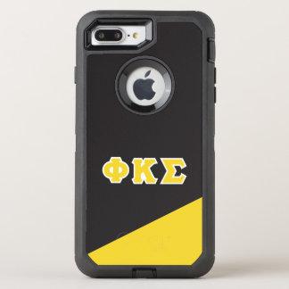 Funda OtterBox Defender Para iPhone 8 Plus/7 Plus Letras del Griego de la sigma el   de Kappa de la