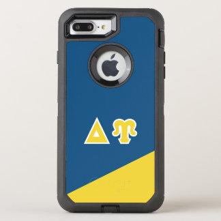 Funda OtterBox Defender Para iPhone 8 Plus/7 Plus Letras del Griego de Upsilon el   del delta