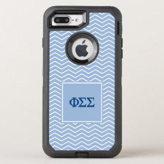 Funda OtterBox Defender Para iPhone 8 Plus/7 Plus Modelo de la sigma el | Chevron de la sigma de la