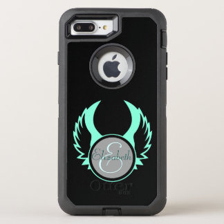 Funda OtterBox Defender Para iPhone 8 Plus/7 Plus Monograma con alas