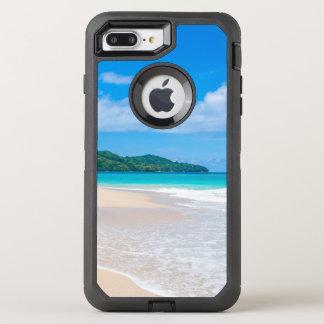 Funda OtterBox Defender Para iPhone 8 Plus/7 Plus Océano tropical de la turquesa de la playa de la