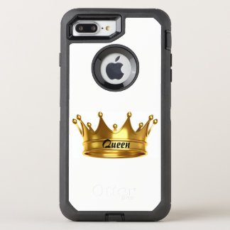 Funda OtterBox Defender Para iPhone 8 Plus/7 Plus Oro de la reina y caja blanca de Otterbox