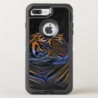 Funda OtterBox Defender Para iPhone 8 Plus/7 Plus Otterbox de Apple, caso más del iphone 6, tigre de