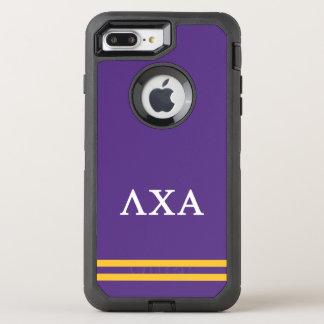 Funda OtterBox Defender Para iPhone 8 Plus/7 Plus Raya del deporte de la alfa el | de la ji de la