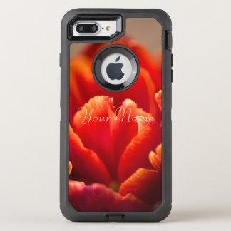 Funda OtterBox Defender Para iPhone 8 Plus/7 Plus Tulipán rojo