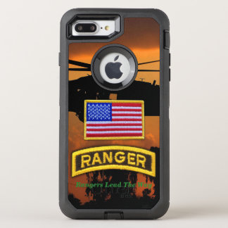 Funda OtterBox Defender Para iPhone 8 Plus/7 Plus Veterinarios aerotransportados LRRP de los