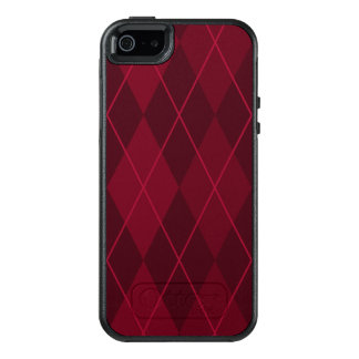 Funda Otterbox Para iPhone 5/5s/SE Argyle rojo