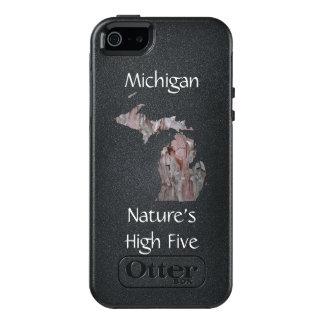 Funda Otterbox Para iPhone 5/5s/SE Caja de los cinco teléfonos de la naturaleza de