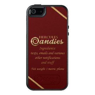 Funda Otterbox Para iPhone 5/5s/SE Caja del teléfono celular de Otterbox del caramelo