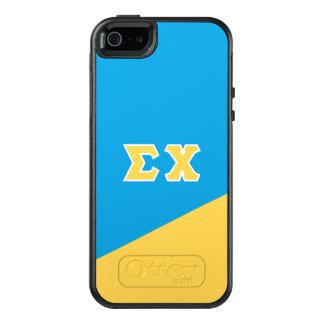 Funda Otterbox Para iPhone 5/5s/SE Letras del Griego de la ji el | de la sigma