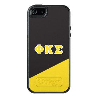 Funda Otterbox Para iPhone 5/5s/SE Letras del Griego de la sigma el | de Kappa de la