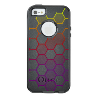 Funda Otterbox Para iPhone 5/5s/SE Maleficio del color con gris