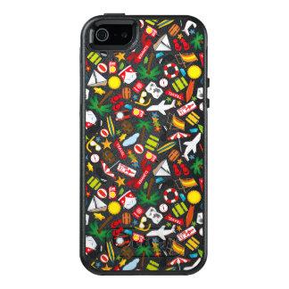 Funda Otterbox Para iPhone 5/5s/SE Mar del sur del viaje de las vacaciones de verano