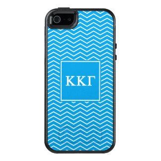 Funda Otterbox Para iPhone 5/5s/SE Modelo de la gamma el | Chevron de Kappa Kappa