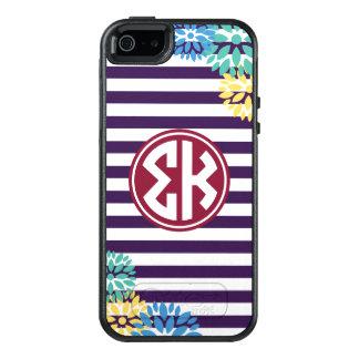 Funda Otterbox Para iPhone 5/5s/SE Modelo de la raya del monograma de Kappa el   de