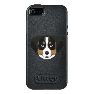 Funda Otterbox Para iPhone 5/5s/SE Perro de montaña de Bernese del ilustracion