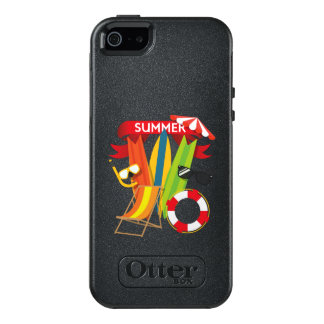 Funda Otterbox Para iPhone 5/5s/SE Playa Watersports del verano