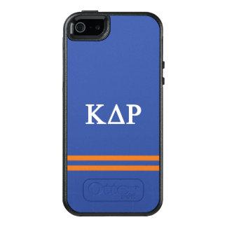 Funda Otterbox Para iPhone 5/5s/SE Raya del deporte de rho el | del delta de Kappa