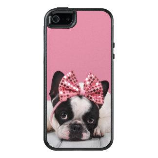 Funda Otterbox Para iPhone 5/5s/SE Rosa que lleva del dogo francés