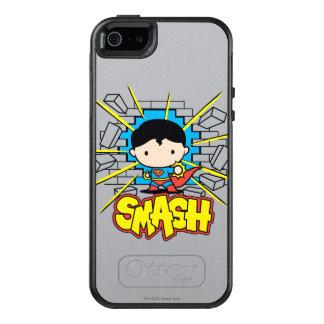 Funda Otterbox Para iPhone 5/5s/SE Superhombre de Chibi que rompe a través de la