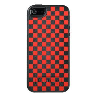 Funda Otterbox Para iPhone 5/5s/SE Tablero de damas rojo