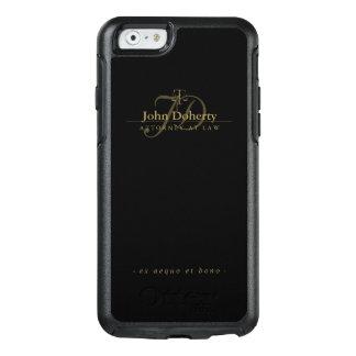 Funda Otterbox Para iPhone 6/6s Abogado en las escalas de oro elegantes de la ley