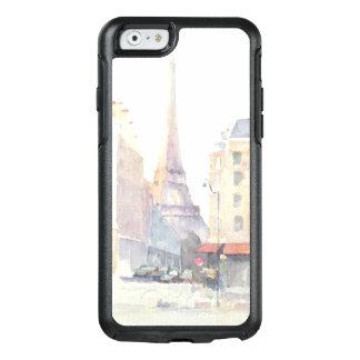 Funda Otterbox Para iPhone 6/6s Acuarela de la torre Eiffel el | París