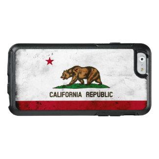 Funda Otterbox Para iPhone 6/6s Bandera patriótica del estado de California del