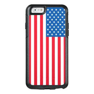 Funda Otterbox Para iPhone 6/6s Barras y estrellas de la bandera de los E.E.U.U.