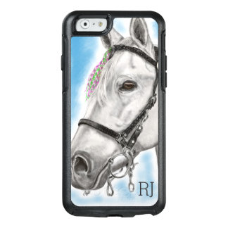 Funda Otterbox Para iPhone 6/6s Caballo blanco