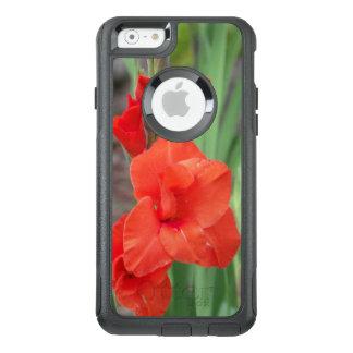 Funda Otterbox Para iPhone 6/6s Caja anaranjada del iPhone del viajero de