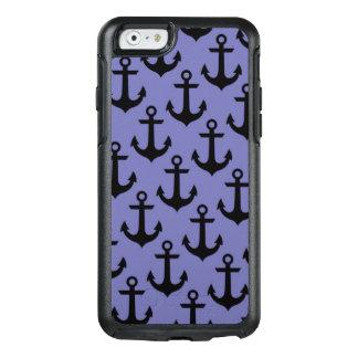 Funda Otterbox Para iPhone 6/6s Caja púrpura del iPhone 6/6s de Otterbox del ancla
