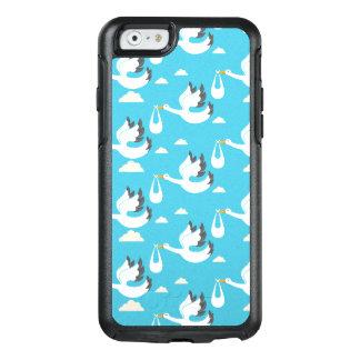 Funda Otterbox Para iPhone 6/6s Cigüeñas lindas que llevan el modelo de los bebés