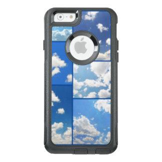 Funda Otterbox Para iPhone 6/6s Collage de los cielos azules y de las nubes del