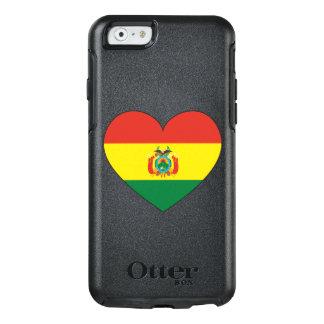 Funda Otterbox Para iPhone 6/6s Corazón de la bandera de Bolivia