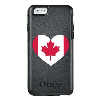 Funda Otterbox Para iPhone 6/6s Corazón de la bandera de Canadá