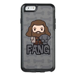 Funda Otterbox Para iPhone 6/6s Dibujo animado Hagrid y arte del carácter del