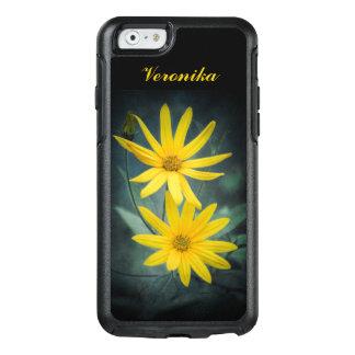 Funda Otterbox Para iPhone 6/6s Dos flores amarillas de alcachofa de Jerusalén