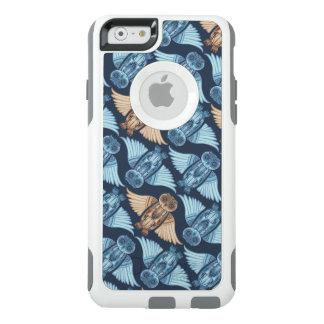 Funda Otterbox Para iPhone 6/6s Ejemplo del búho en modelo abstracto. Naturaleza,