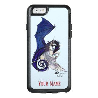 Funda Otterbox Para iPhone 6/6s El caballo con alas unicornio azul del dragón